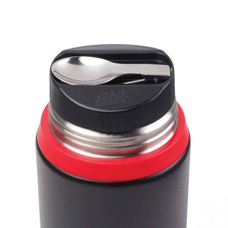 Termos obiadowy ESBIT FOOD JUG PLUS - BLACK/ RED